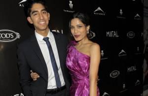 Freida Pinto : Une actrice resplendissante auprès de son amoureux Dev Patel !