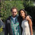 Julian Schnabel et Rula Jebreal