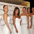 """""""Monica Cruz présente la collection 2011 des robes de mariées de Aire Barcelona, à Madrid. 16/09/2010"""""""