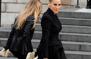 Sarah Jessica Parker, Kate Moss, Naomi Campbell, émues pour un dernier hommage à Alexander McQueen...