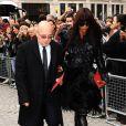 Naomi Campbell lors de la cérémonie privée en l'honneur du regretté Alexander McQueen. Le 20 septembre à Londres