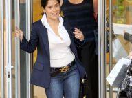 Salma Hayek : Sans maquillage et à peine coiffée, elle s'offre une virée shopping avec le sourire !