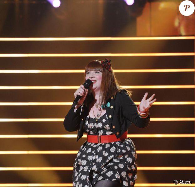 Luce, gagnante de l'émission Nouvelle Star 2010.