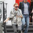 Stella McCartney à la sortie de l'école de ses enfants à Londres, le 23 septembre 2010