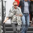 Stella McCartney à la sortie de l'école de ses enfants à Londres, le 22 septembre 2010