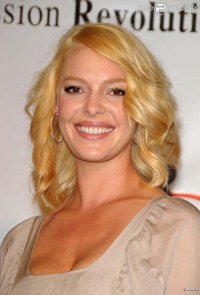 Katherine Heigl lors de la conférence de presse de l'association  Jason Debus Heigl Foundation,  le 23 septembre 2010 à Beverly Hills