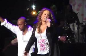 Mariah Carey : Elle chute en plein concert !