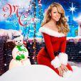 Pochette du nouvel album de Noël de Mariah Carey :  Merry Christmas II You