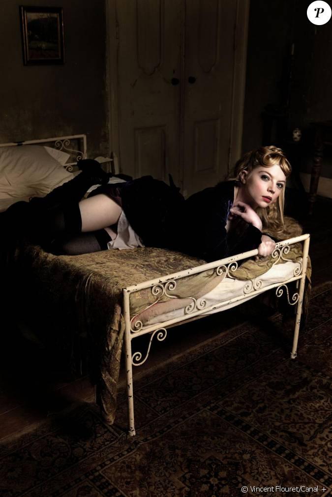 cl mence br techer alias valentine dans la s rie v n ment maison close d s le 4 octobre. Black Bedroom Furniture Sets. Home Design Ideas