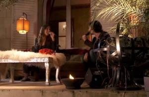Regardez Zazie chanter en duo avec son amoureux !