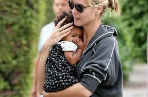 Heidi Klum : Blottie contre maman, la petite Lou n'est pas une karaté kid !