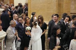 Elisabetta Canalis, sublime lors d'un mariage... qui lui donne des idées ?