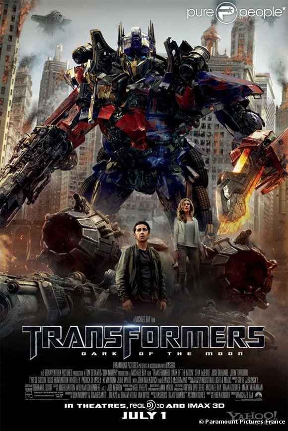 Transformers : La Face cachée de la lune  (2011) de Michael Bay.