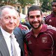 Yoann Gourcuff redonne un peu de lustre à la compta de l'Olympique Lyonnais, et Jean-Michel Aulas (photo) se félicite de cette acquisition : dès l'arrivée de l'ancien Girondin, l'effet Gourcuff s'est fait sentir...