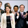 François Hollande et Ségolène Royal en 2007 lors d'un meeting de la candidate socialiste à l'élection présidentielle