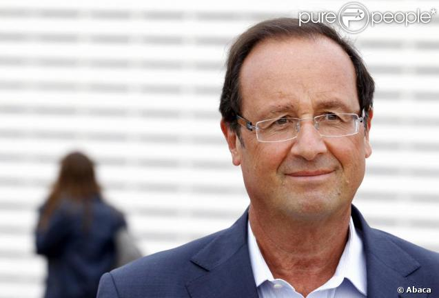 François Hollande en août 2010