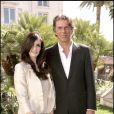 Paz Vega et Dominique Desseigne, PDG du groupe Barrière et propriétaire du Majestic