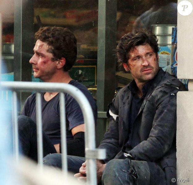 Des images du tournage de Transformers 3, en août 2010.