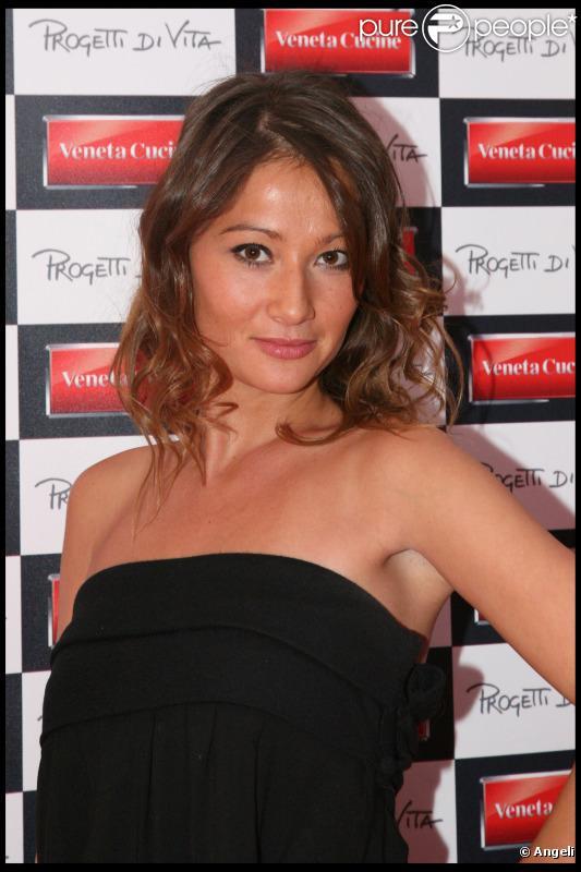 Yoake, candidate Top Chef, à la soirée Veneta Cucine fait son cinéma le 14 octobre 2010