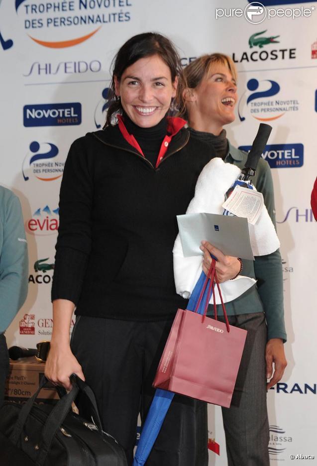 Inés Sastre très souriante