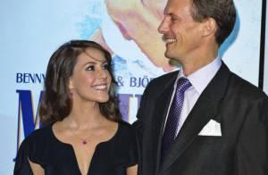 Marie et Joachim de Danemark, radieux pour applaudir les anciennes stars d'ABBA!