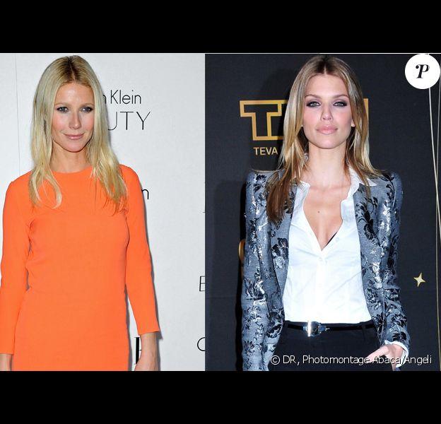 Gwyneth Paltrow en Calvin Klein/AnnaLynne McCord en working girl tendance.