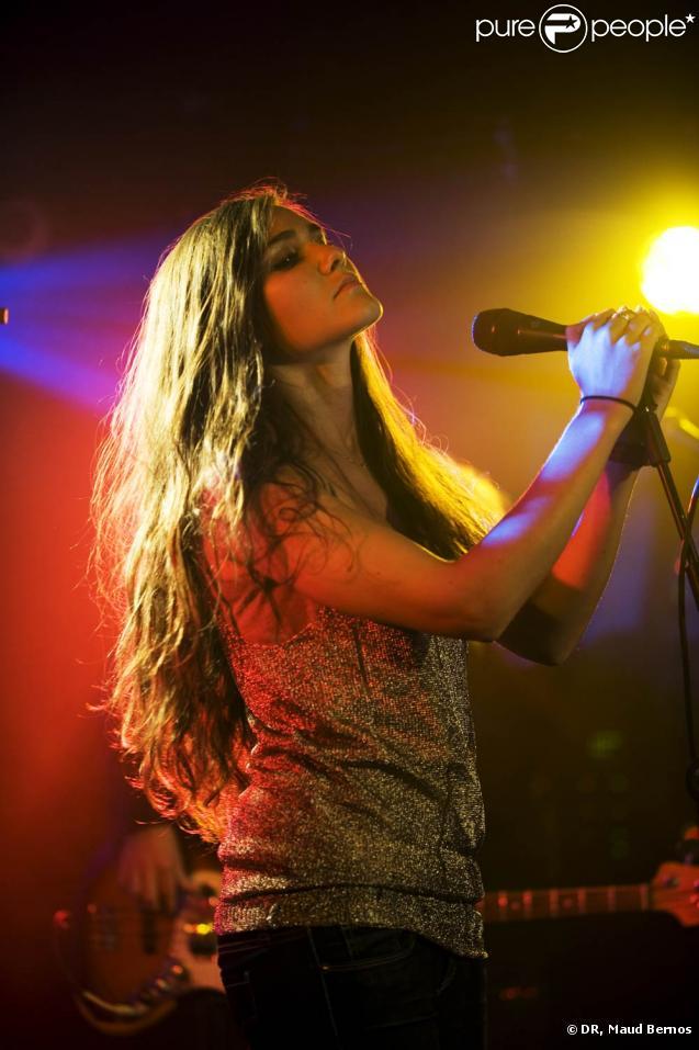 Joyce Jonathan, en concert au Studio SFR le 18 octobre 2010.