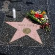 Etoile de Tony Curtis sur Hollywood Boulevard