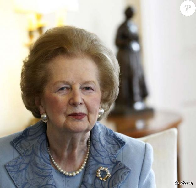 Margaret Thatcher, Londres, 8 juin 2010