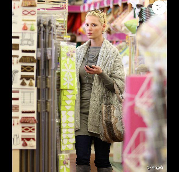 Katherine Heigl faisant du shopping à Beverly Hills, le 26 octobre 2010