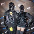 Heidi Klum et son mari Seal lors de la soirée d'Halloween 2009