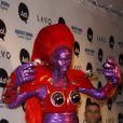 Heidi Klum lors de son Halloween 2010 en super-héroïne !
