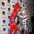 Heidi Klum et Seal ont joué les super-héros lors à Halloween en 2010