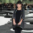 Lily Allen, lors du défilé Chanel le 5 octobre 2010.