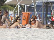 Paul Walker et Jordana Brewster à la plage quand Vin Diesel a le dos tourné !