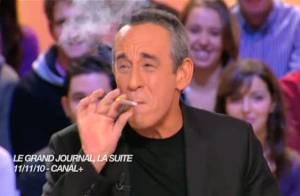 Quand Thierry Ardisson se met à fumer un joint à la télé : Le CSA va agir !