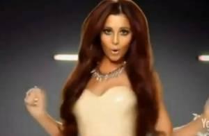 Cheryl Cole : Une belle potiche en latex dans le clip de son copain Will.i.am !