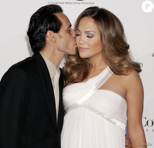 Jennifer Lopez et Marc Anthony à Los Angeles en décembre en 2007