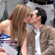 Jennifer Lopez et Marc Anthony à New York en juin 2010