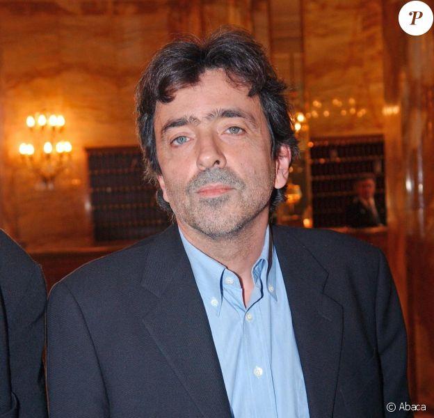 L'écrivain Régis Jauffret