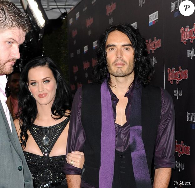 Katy Perry et Russell Brand à l'after-party des American Music Awards au Hollywood and Highland le 21 novembre 2010