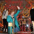 Catherine Tate invitée à Londres pour les illuminations de Noël à la boutique Stella McCartney le 22/11/10