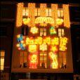 Illuminations de Noël à la boutique Stella McCartney le 22/11/10