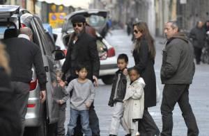 Brad Pitt et Angelina Jolie : de généreux parents adoptifs, victimes d'un vol !