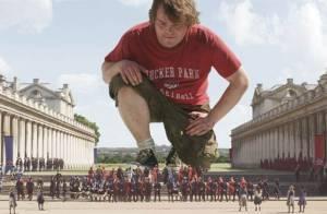 Jack Black : Bientôt Gulliver au cinéma, il l'est déjà avec son fils au parc !