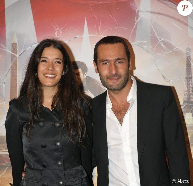 Gilles Lellouche et Mélanie Doutey en juin 2008.
