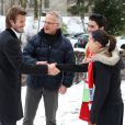 Après avoir rencontré des écoliers zurichois le 30 novembre, dès son arrivée en Suisse, David Beckham donnait le 1er décembre une conférence de presse pour la candidature de l'Angleterre à l'attribution de la Coupe du Monde 2018.