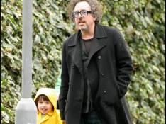 PHOTOS : Tim Burton, un vrai papa poule !