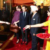 Sarkozy en Inde : Carla Bruni sublime la visite d'Etat en romance envoûtante !