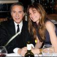 Richard Berry et son amie Pascale.  7/12/2010